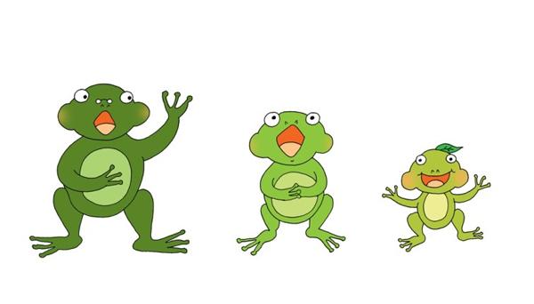 개구리가족